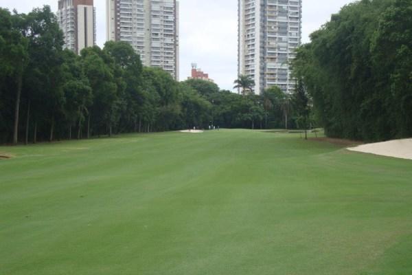 Fairway of the Sao Paulo golf club.