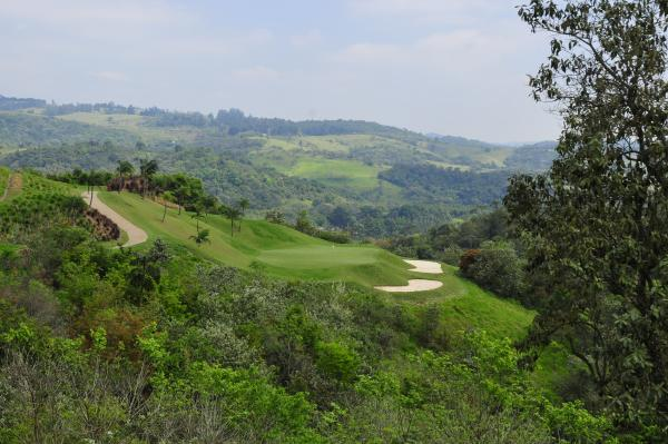 View of the Vista Verde golf course.