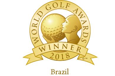 The world Golf Award for the best golf tour operator in Brazil