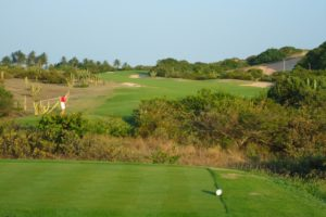 Fastgame of the course of the Aquiraz Riviera Ocean & Dunes golf club in Fortaleza.