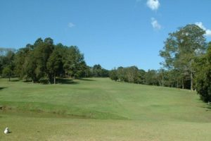 Fairway of the 27 holes golf course of the Aruja PL golf club.