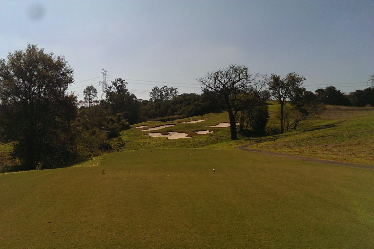 View on the golf course of the Boa Vista Golf Club - designed by Arnold Palmers