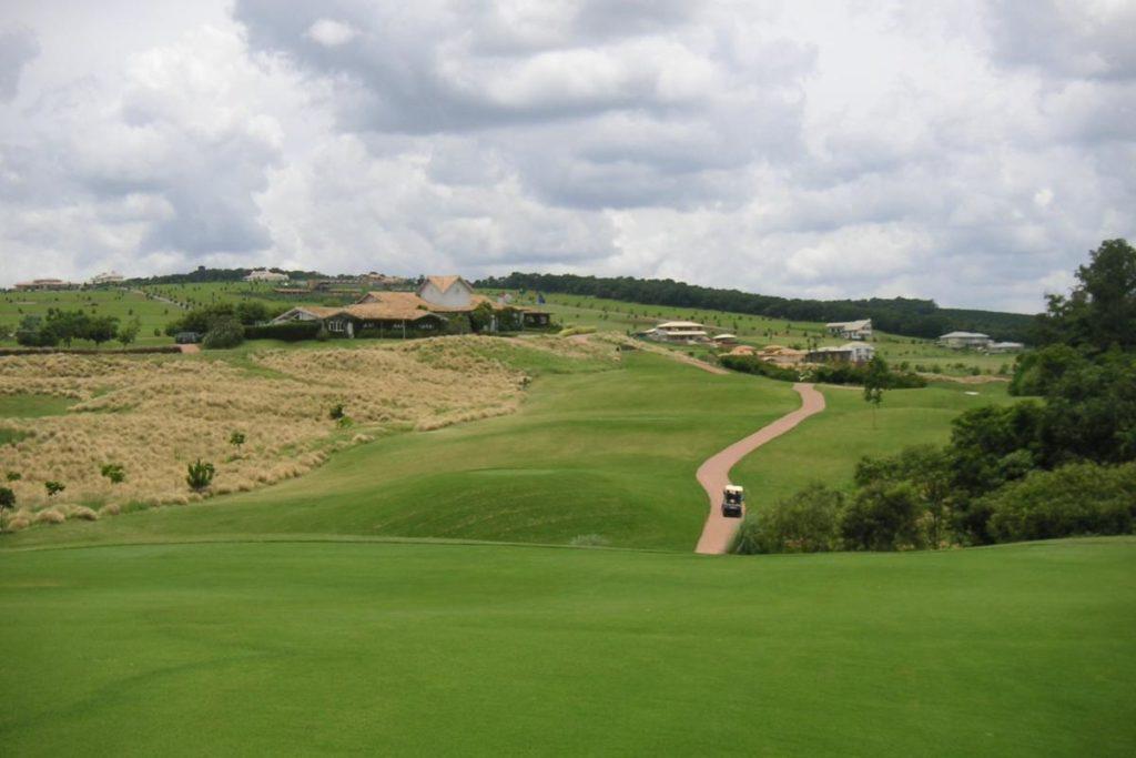 Golf course of the Quinta do Baroneza Golf club.