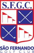 Logo of the Sao Fernando Golf Club in Cotia.