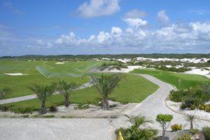 Golf course of the Iberostar Praia do Forte golf club.