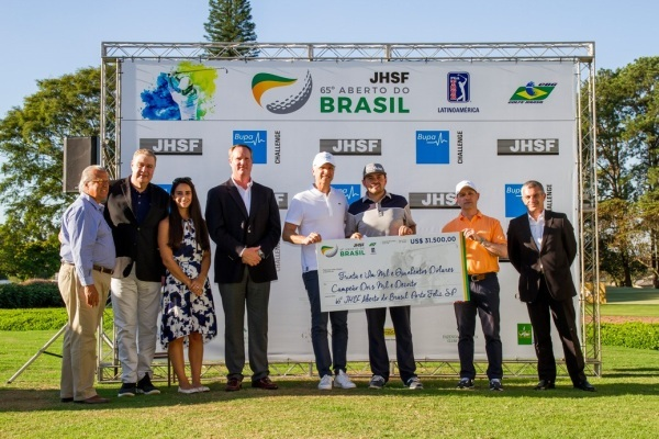 Colombian Marcelo Rozo wins the 65th JHSF Brazil Open at the Randall Thompson Golf Course at Fazenda Boa Vista.