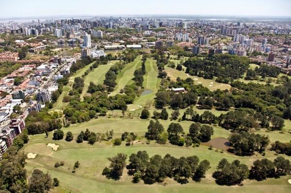 Golf course of the Porto Alegre Country Golf Club in the state of Rio Grande do Sul.