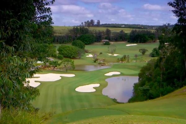 Voted as best Golf Course in Brazil - Fazenda Santa Pazienza Golf Club in Itatiba.