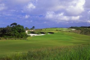 Fast game of the course of the Terravista golf club in Trancoso.